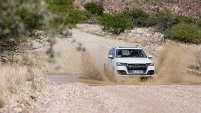 El Audi Q7 3.0 TDI bajo condiciones extremasen el desierto de Namibia