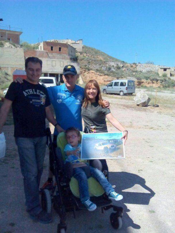 la jornada sirvió para colaborar con la Fundación A dar la cara por Eric. Eric es un niño de 5 años sin diagnóstico, que necesita tratamientos para mejorar su calidad de vida
