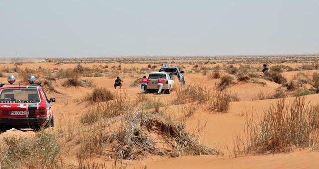 Épica etapa maraton del Rally Clásicos del Atlas Solidario