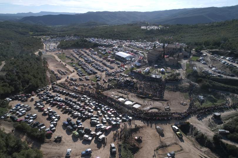 Les Comes 4x4 Festival bate su propio récord de participación en 2018