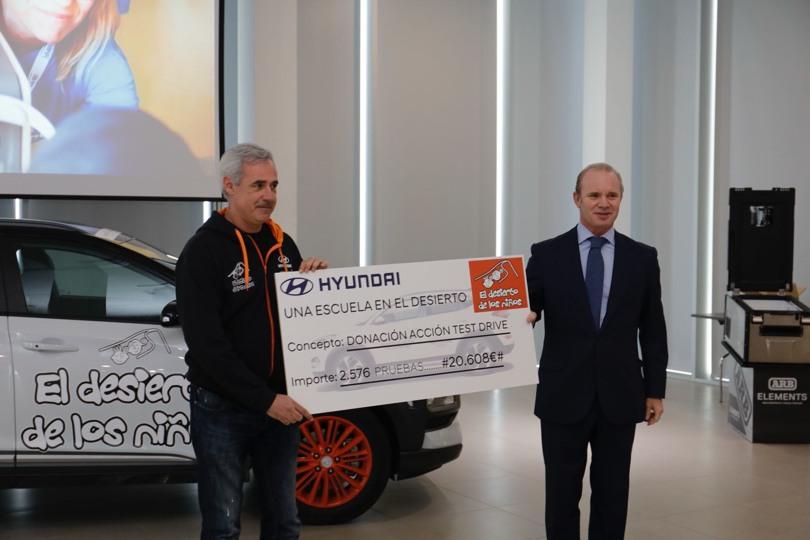 Hyundai Motor España de nuevo solidario con el Desierto de los niños
