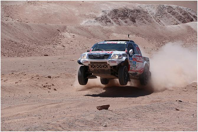 Dakar 2015, Etapa 6