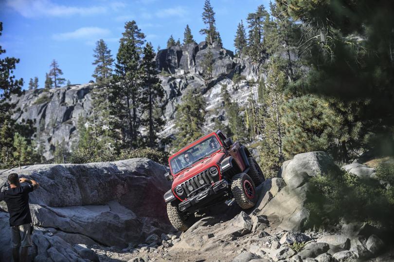 El nuevo Jeep® Wrangler en la Rubicon Trail