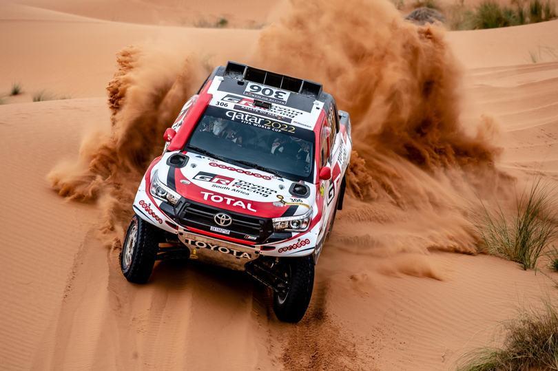 Quinta victoria consecutiva de Nasser Al Attiyah en el Rally de Marruecos