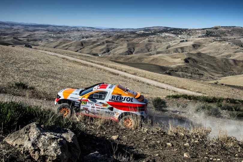 Isidre Esteve, Rally de Marruecos 2018
