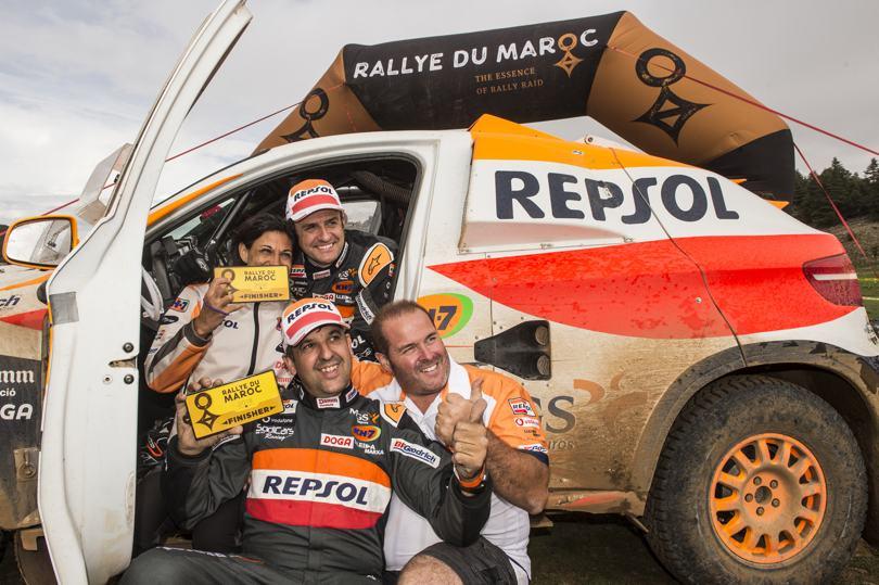 Isidre Esteve en el Top 10 del Rally de Marruecos 2018