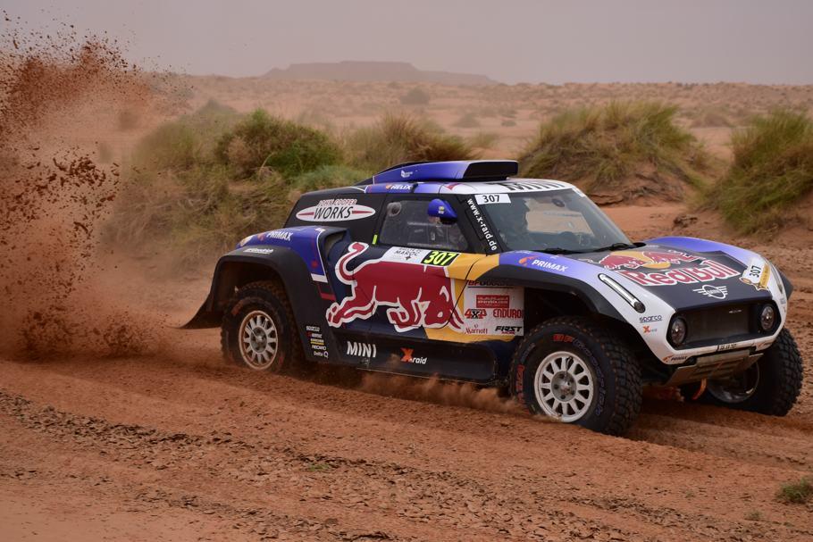Despres da la primera victoria en el Rally de Marruecos al Buggy X-Raid