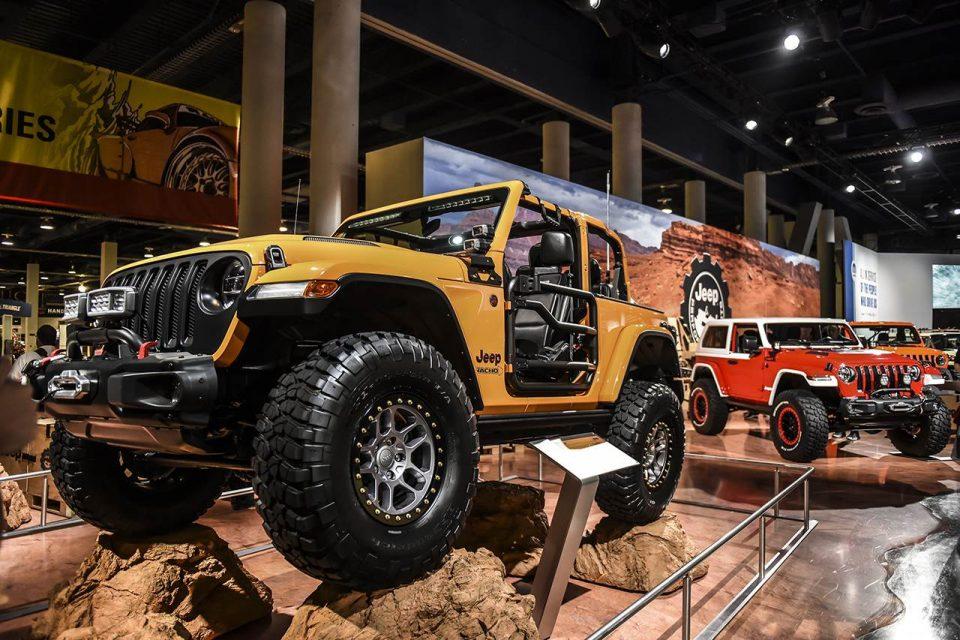 Jeep® expone cuatro vehículos en el SEMA Show 2018