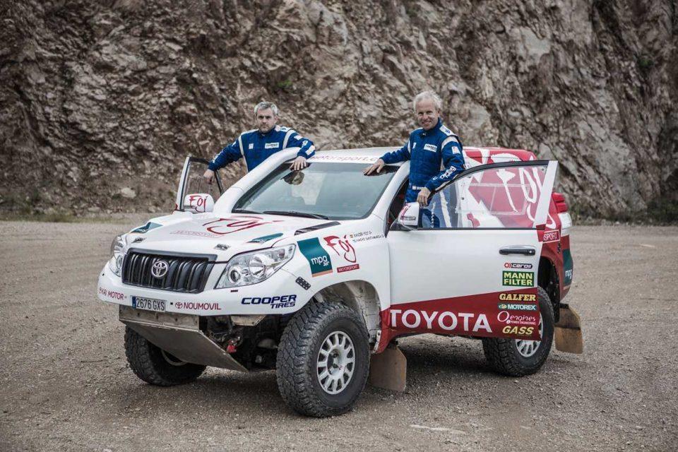 Xavi Foj Dakar 2019