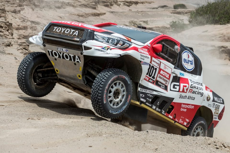 Nasser Al-Attiyah Consigue su tercer Dakar y da a Toyota el primero absoluto