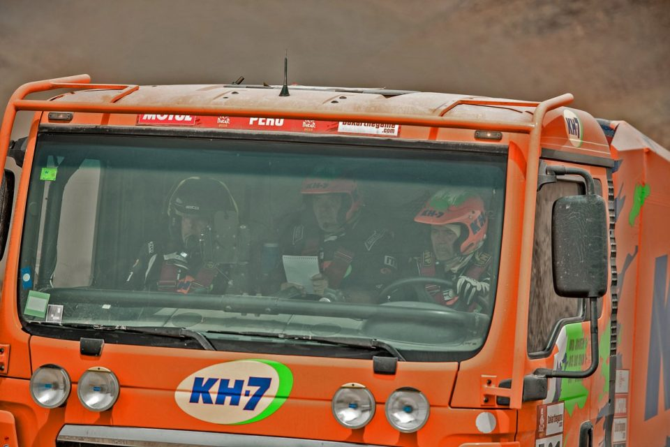 El KH-7 Epsilon Team supera todas las adversidades y llega a la meta del Dakar 2019