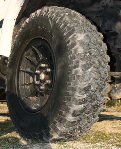 Unos neumáticos especializados y de perfil alto marcarán la diferencia en la conducción Off-Road